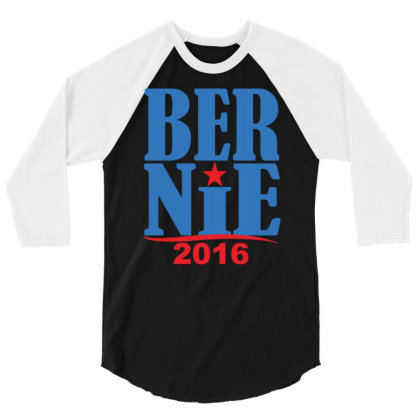 Bernie 2016 3/4 Sleeve Shirt Designed By Rs Shop