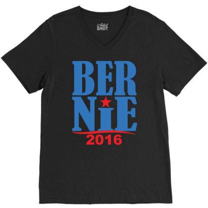 Bernie 2016 V-neck Tee Designed By Rs Shop