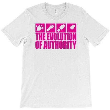 Evolution Of Authority T-shirt Designed By Putiandini