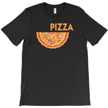 Funny Pizze T-shirt Designed By Putiandini