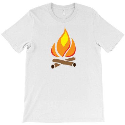 Hot Fire T-shirt Designed By Putiandini