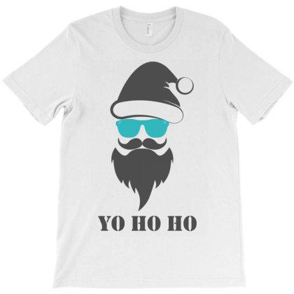 Santa Clause Yo Ho Ho T-shirt Designed By Putiandini
