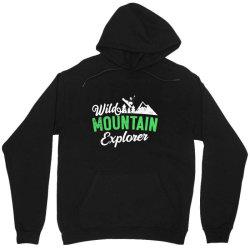 wild mountain explorer t shirt Unisex Hoodie   Artistshot