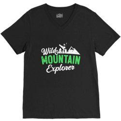 wild mountain explorer t shirt V-Neck Tee   Artistshot