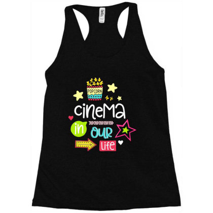 Cinema In Our Life Racerback Tank Designed By Gnuh79