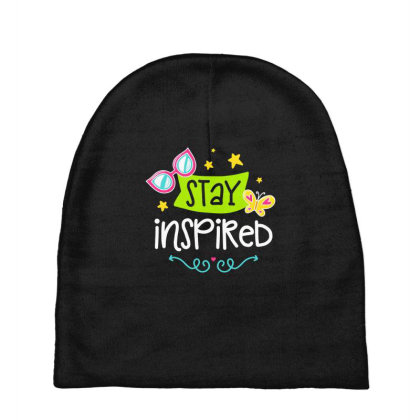 Stay Insprired Baby Beanies Designed By Gnuh79
