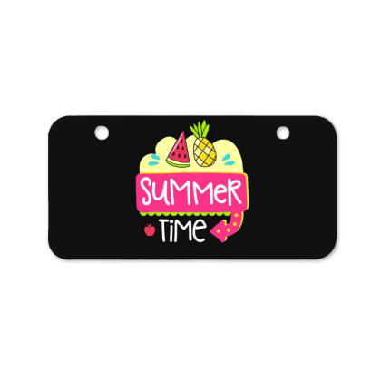 Summer Time Bicycle License Plate Designed By Gnuh79