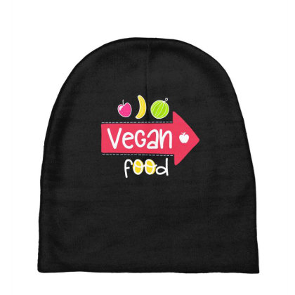 Vegan Food Baby Beanies Designed By Gnuh79