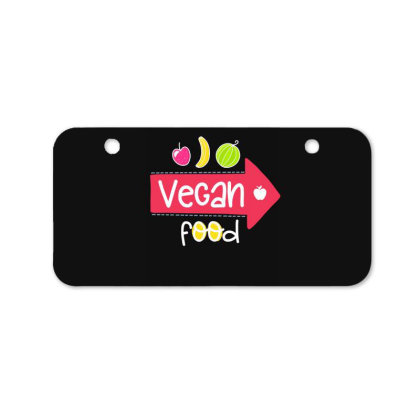 Vegan Food Bicycle License Plate Designed By Gnuh79
