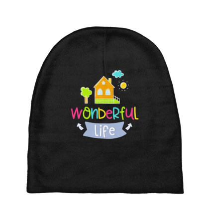 Wonderful Life Baby Beanies Designed By Gnuh79