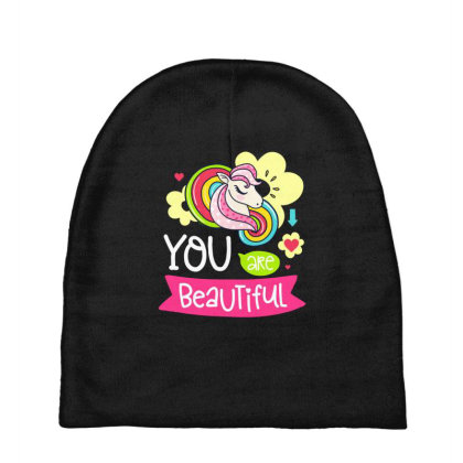 You Are Beaytiful T Shirt Baby Beanies Designed By Gnuh79