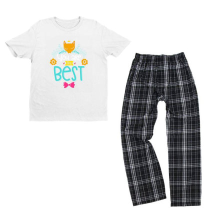 You Are The Best Youth T-shirt Pajama Set Designed By Gnuh79