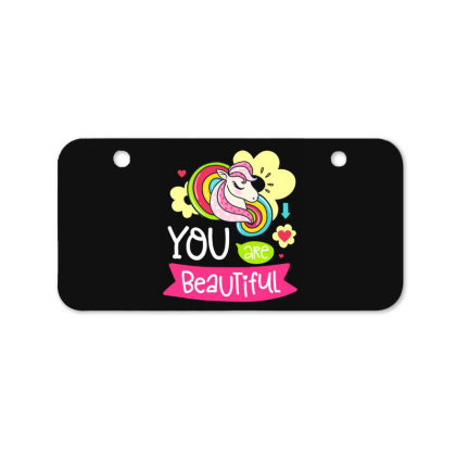 You Are Beaytiful T Shirt Bicycle License Plate Designed By Gnuh79
