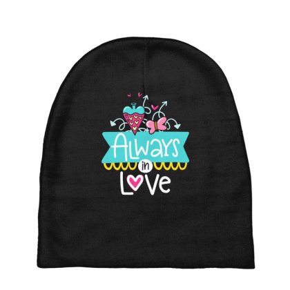 Always In Love Baby Beanies Designed By Gnuh79