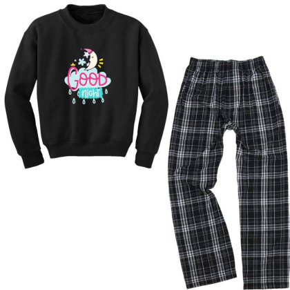 Good Night Youth Sweatshirt Pajama Set Designed By Gnuh79