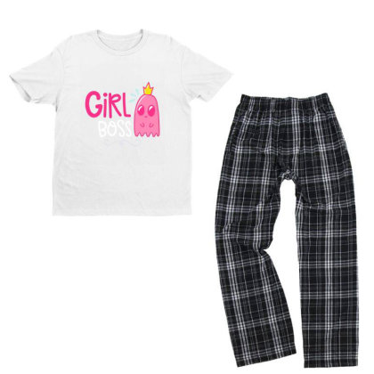 Girl Boss Youth T-shirt Pajama Set Designed By Gnuh79