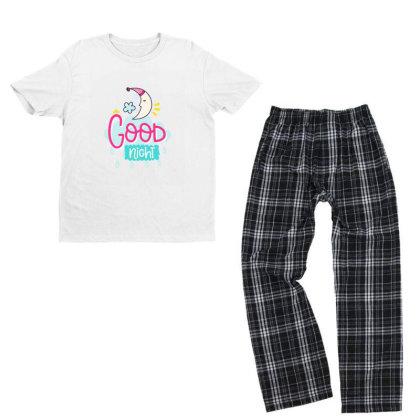 Good Night Youth T-shirt Pajama Set Designed By Gnuh79
