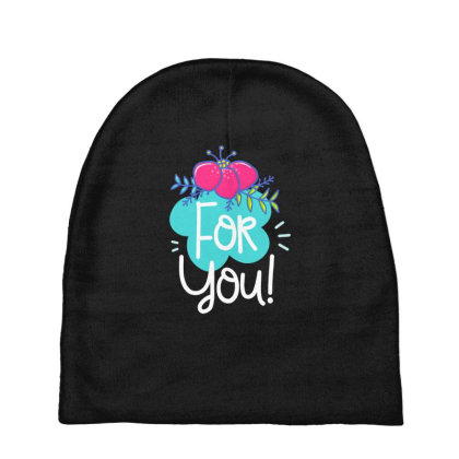 For You Baby Beanies Designed By Gnuh79