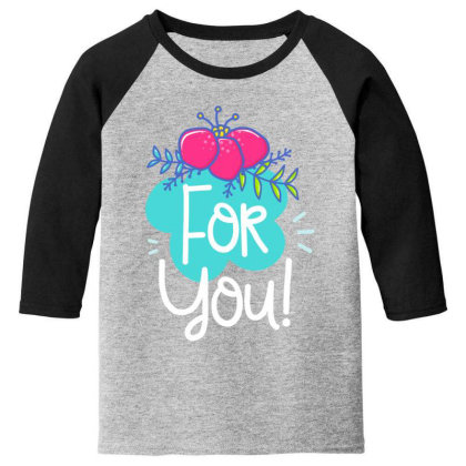 For You Youth 3/4 Sleeve Designed By Gnuh79