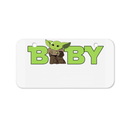 Baby Yoda Bicycle License Plate Designed By Akin