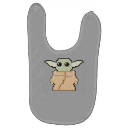 Pixel Yoda Baby Bibs Designed By Akin