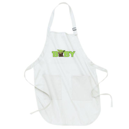 Baby Yoda Full-length Apron Designed By Akin