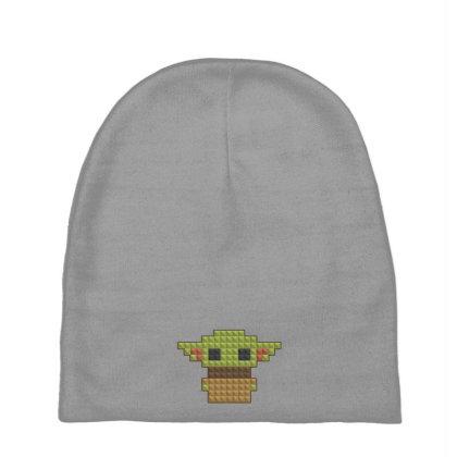 8bit Yoda Baby Beanies Designed By Akin