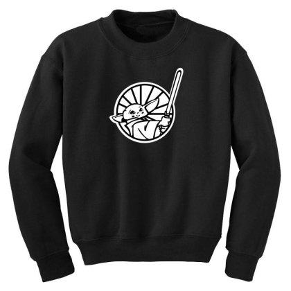 Baby Yoda Youth Sweatshirt Designed By Akin