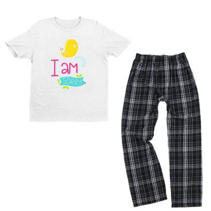I Am Sorry Youth T-shirt Pajama Set Designed By Gnuh79