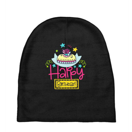 Happy Birthday Baby Beanies Designed By Gnuh79