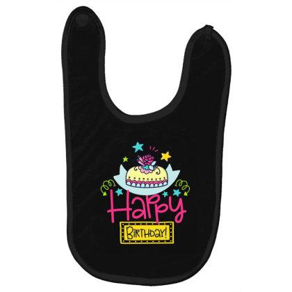 Happy Birthday Baby Bibs Designed By Gnuh79