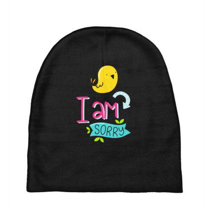 I Am Sorry Baby Beanies Designed By Gnuh79