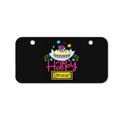 Happy Birthday Bicycle License Plate Designed By Gnuh79