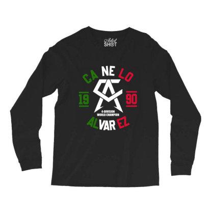 Team Canelo Mexico Alvarez Long Sleeve Shirts Designed By Elasting