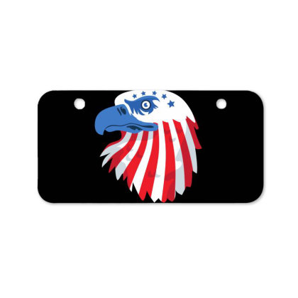 United States Eagle Bicycle License Plate Designed By Chiks