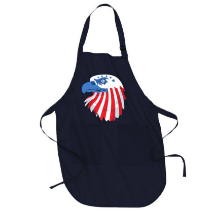United States Eagle Full-length Apron Designed By Chiks