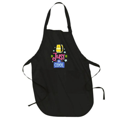 Just Be Cool Full-length Apron Designed By Gnuh79