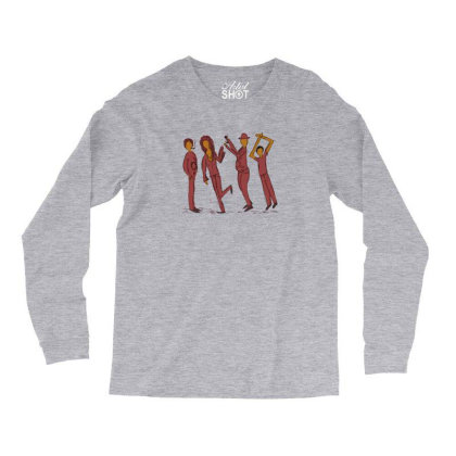Dancing People Long Sleeve Shirts Designed By Chiks