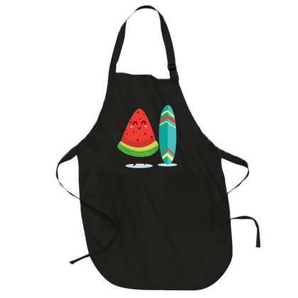 Watermelon Full-length Apron Designed By Chiks