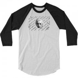 albert einstein 3/4 Sleeve Shirt | Artistshot