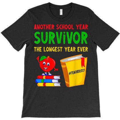 Another School Year Survivor T-shirt Designed By Koopshawneen