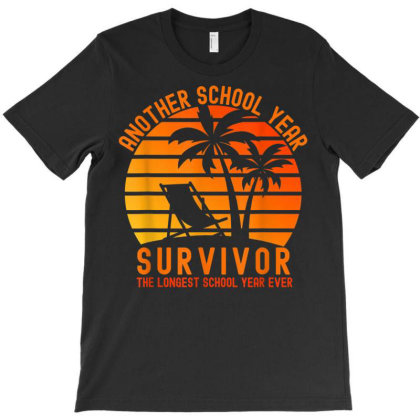Another School Year Survivor The Longest School T-shirt Designed By Koopshawneen