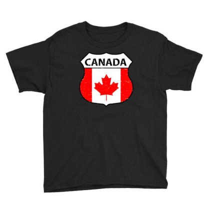 Canadian Youth Tee Designed By Zig Street