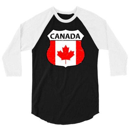 Canadian 3/4 Sleeve Shirt Designed By Zig Street