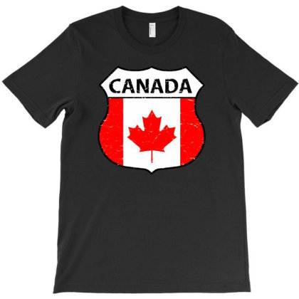 Canadian T-shirt Designed By Zig Street