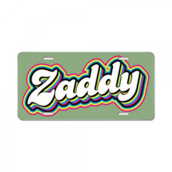 Daddy Parody License Plate | Artistshot