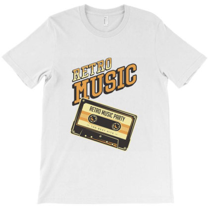 Retro Musik T-shirt Designed By Hatta1976