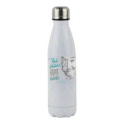 Collin Not Dead Yet Stainless Steel Water Bottle Designed By Princeone