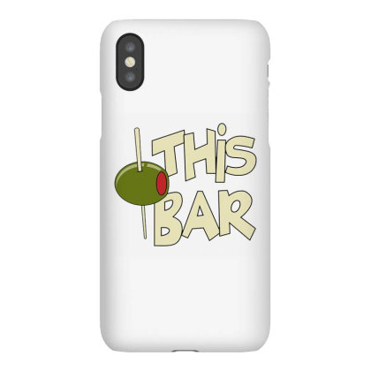 Olive This Bar Iphonex Case Designed By Hofmantrs