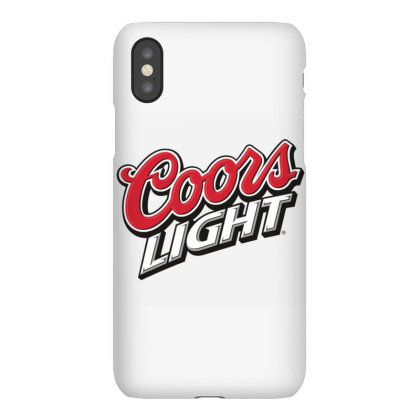 Black And Tan Coors Light Logo Transparent Iphonex Case Designed By Princeone